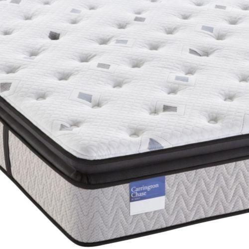 Carrington Chase by Sealy® Prestwick Pillow Top Hybrid Plush Queen Mattress-PrestwickP-Q