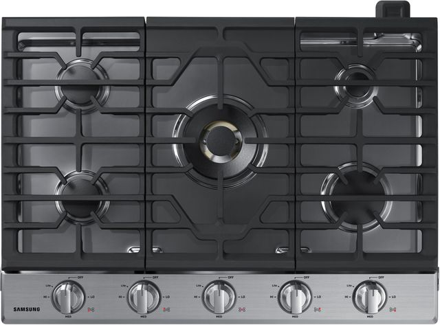 """Samsung 30"""" Gas Cooktop-Stainless Steel-NA30N7755TS"""