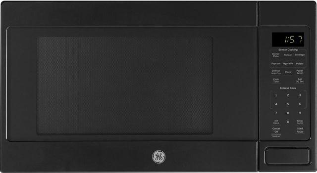 GE® Countertop Microwave-Black-JES1657DMBB
