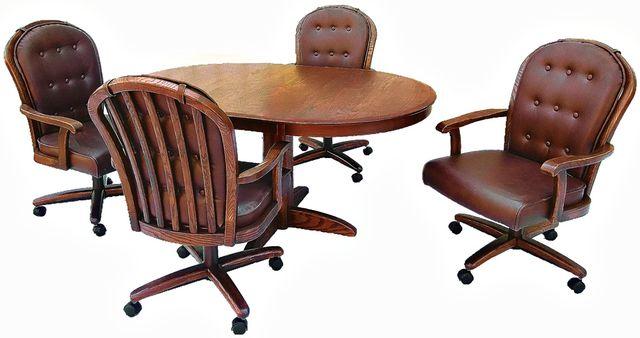 Chromcraft™ Dining Table-CT250W+C607AW