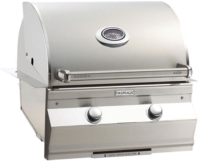 Fire Magic® Aurora Collection Built In Grill-Stainless Steel-A430i-5EAP