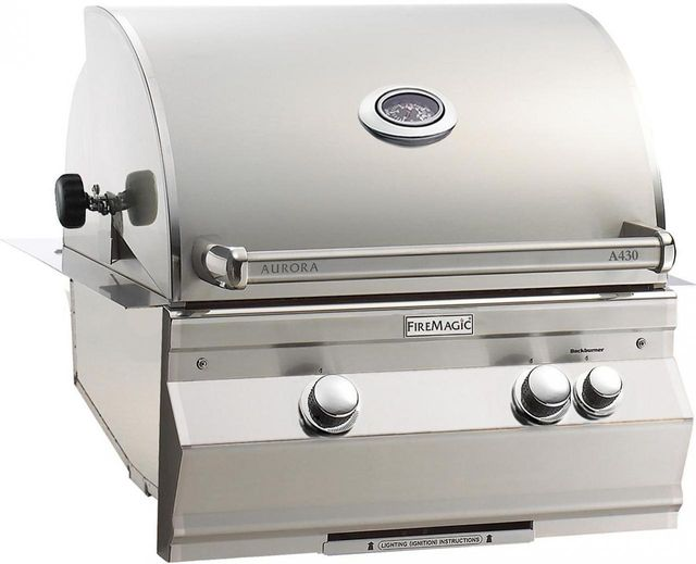Fire Magic® Aurora Collection Built In Grill-Stainless Steel-A430i-6EAN