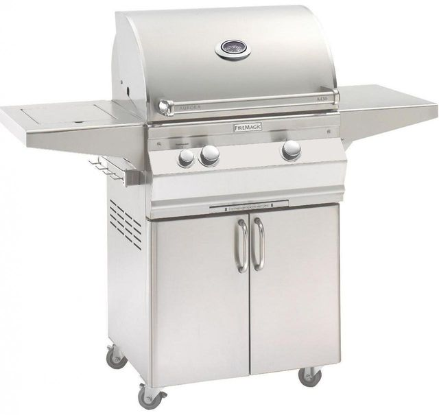 Fire Magic® Aurora Collection Portable Grill-Stainless Steel-A430s-5EAN-62