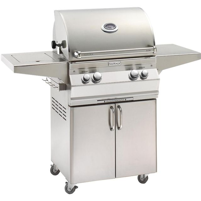 Fire Magic® Aurora Collection Portable Grill-Stainless Steel-A430s-6EAN-62