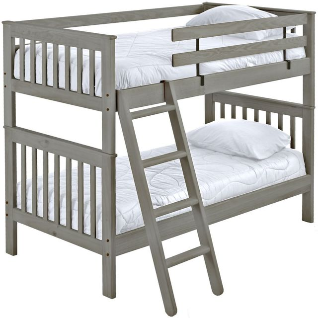 Crate Designs™ Storm Full Over Full Tall Mission Bunk Bed-S4707T