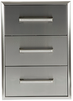 Coyote Outdoor Living Drawer Cabinet-Stainless Steel-C3DC