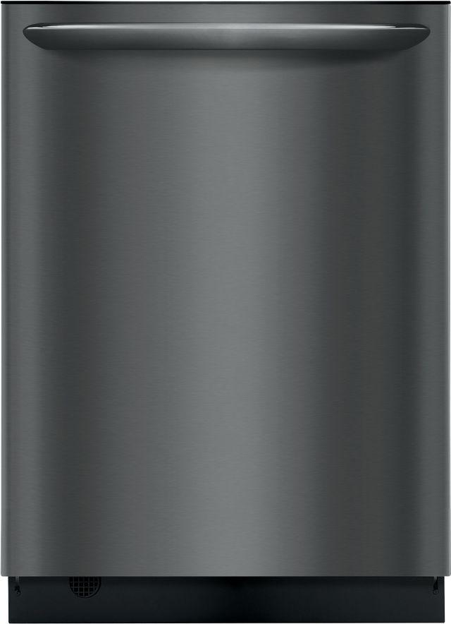 "Frigidaire Gallery® 24"" Black Stainless Steel Built In Dishwasher-FGID2468UD"