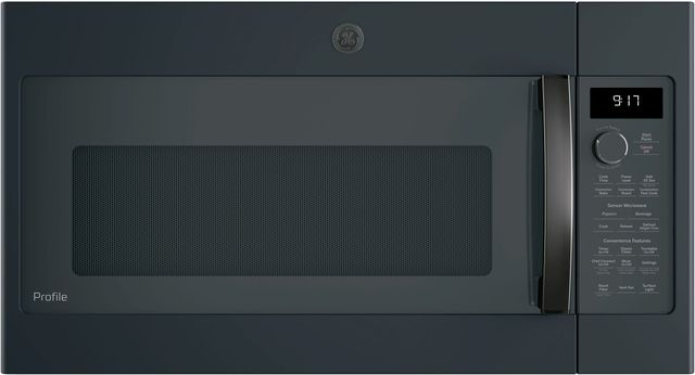 "GE Profile™ 29.88"" Black Slate Over The Range Microwave-PVM9179FLDS"