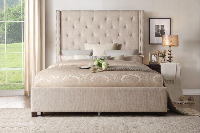 Fairborn California King Platform Storage Bed-5877KBE-1CKDW*