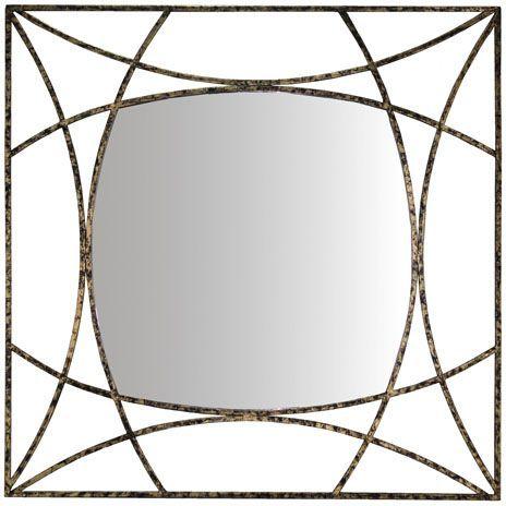 Signature Design by Ashley® Keita Black/Gold Accent Mirror-A8010175