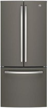 GE® Series 20.8 Cu. Ft. French Door Refrigerator-Slate-GNE21FMKES