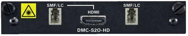Crestron® 2-Channel DigitalMedia 8G™ Single-Mode Fiber Output Card-DMC-S2O-HD