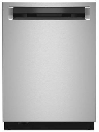Lave-vaisselle encastré KitchenAid® PrintShield™de 24 po - Acier inoxydable-KDPM804KPS