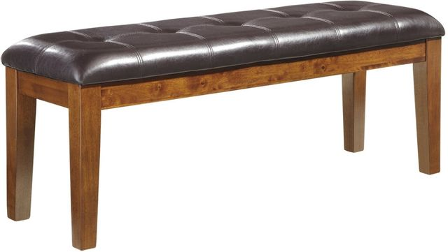 Signature Design by Ashley® Ralene Medium Brown Large Upholstered Dining Room Bench-D594-00