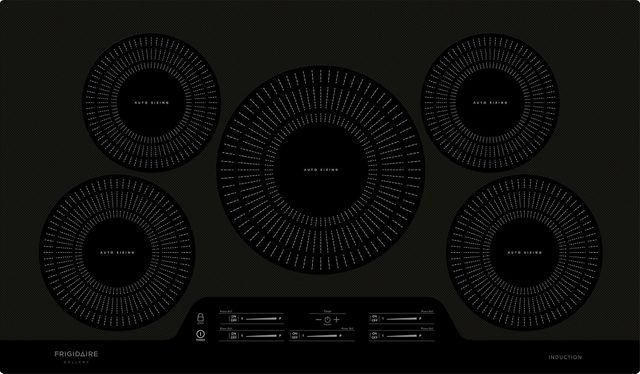 "Frigidaire Gallery® 36"" Black Induction Cooktop-FGIC3666TB"