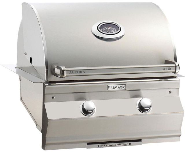 Fire Magic® Aurora Collection Built In Grill-Stainless Steel-A530i-5EAN