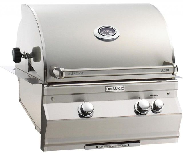 Fire Magic® Aurora Collection Built In Grill-Stainless Steel-A530i-6EAP
