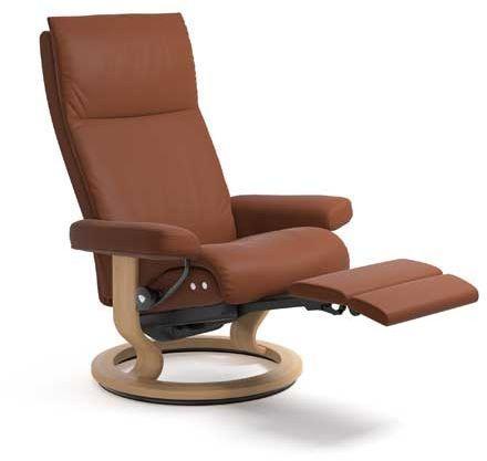 Stressless® by Ekornes® Aura Medium Leg Comfort Recliner-1343715
