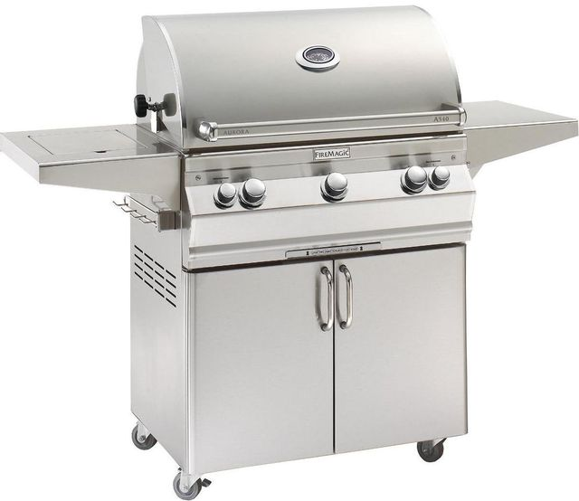 Fire Magic® Aurora Collection Portable Grill-Stainless Steel-A540s-6EAN-62