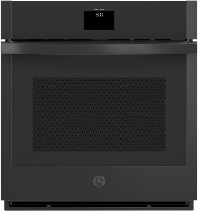 "GE® 27"" Black Electric Single Oven Built In-JKS5000DNBB"