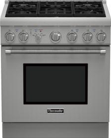 """Thermador® Professional Series 30"""" Pro Harmony® Standard Depth All Gas Range-Stainless Steel-PRG305PH"""