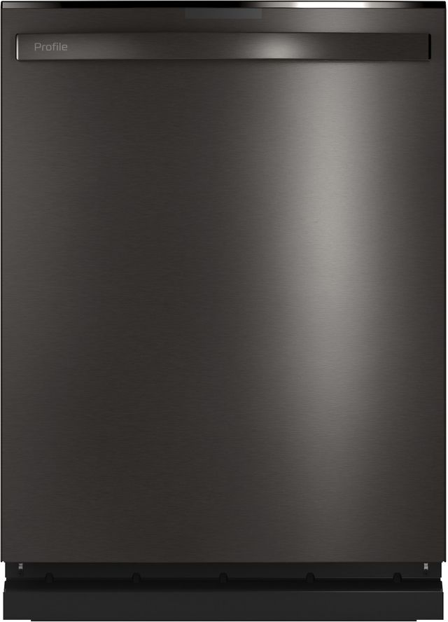 "GE Profile™ 24"" Black Stainless Steel Built In Dishwasher-PDT785SBNTS"