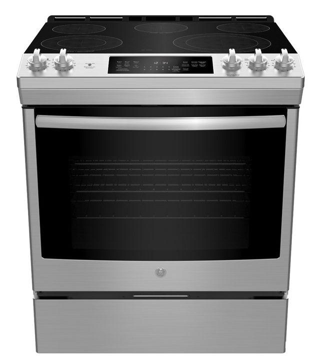 Cuisinière électrique encastrée GE® de 5,3 pi³ de 30 po - Acier inoxydable-JCS840SMSS