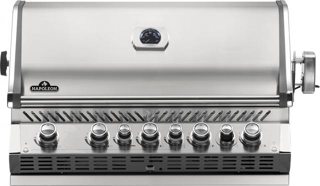 Gril encastré au propane Napoleon Prestige Pro de 41,75 po - Acier inoxydable-BIPRO665RBNSS-3