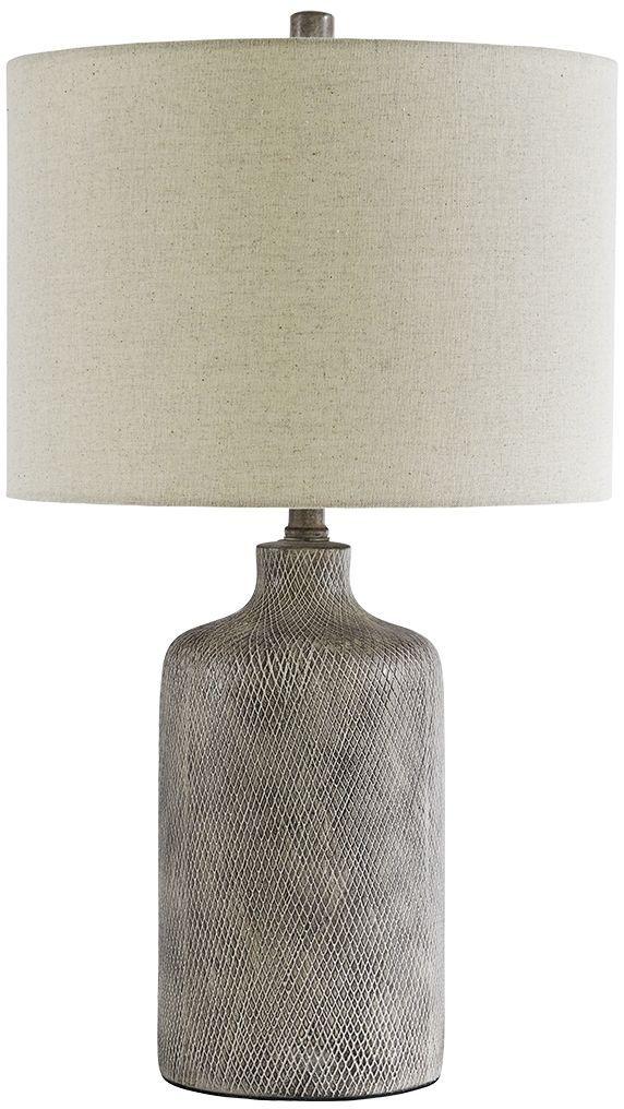 Signature Design by Ashley® Linus Antique Black Table Lamp-L117964