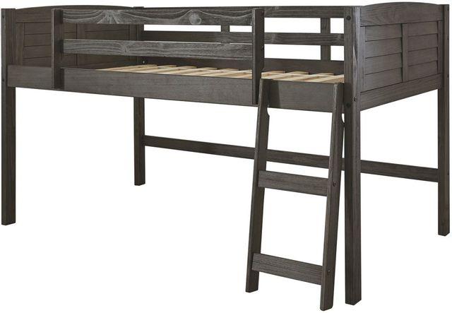 Signature Design by Ashley® Caitbrook Gray Twin Loft Bed Frame-B388-62