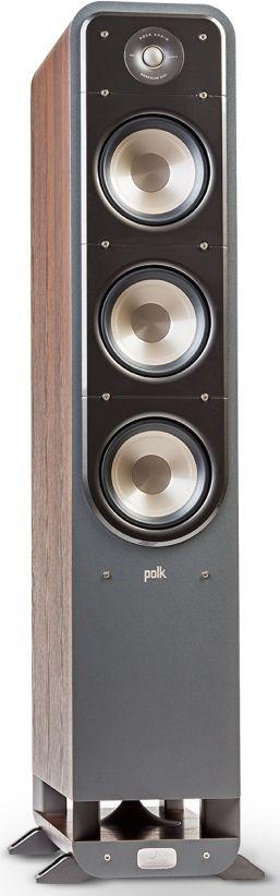 "Polk Audio® Signature Series S60 Classic Brown Walnut 6.5"" Home Theater Tower Speaker-AM9632"