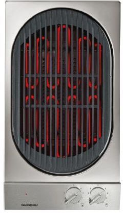 """Gaggenau 200 Series 12"""" Modular Electric Indoor Barbecue Grill-Stainless Steel-VR230614"""
