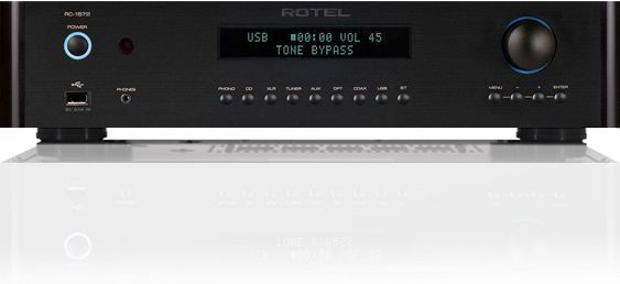 Rotel® Black Stereo Preamplifier-RC-1572-BK