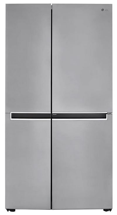 LG 26.8 Cu. Ft. Platinum Silver Side by Side Refrigerator-LRSPS2706V