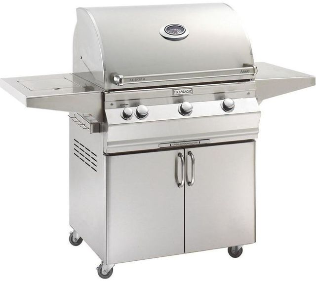 Fire Magic® Aurora Collection A Series Portable Grill-Stainless Steel-A660s-5EAP-62