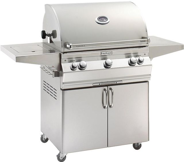Fire Magic® Aurora Collection Portable Grill-Stainless Steel-A660s-6EAN-62