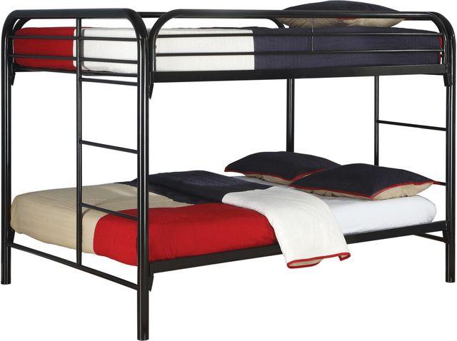 Coaster® Morgan Black Full Bunk Bed-460056K