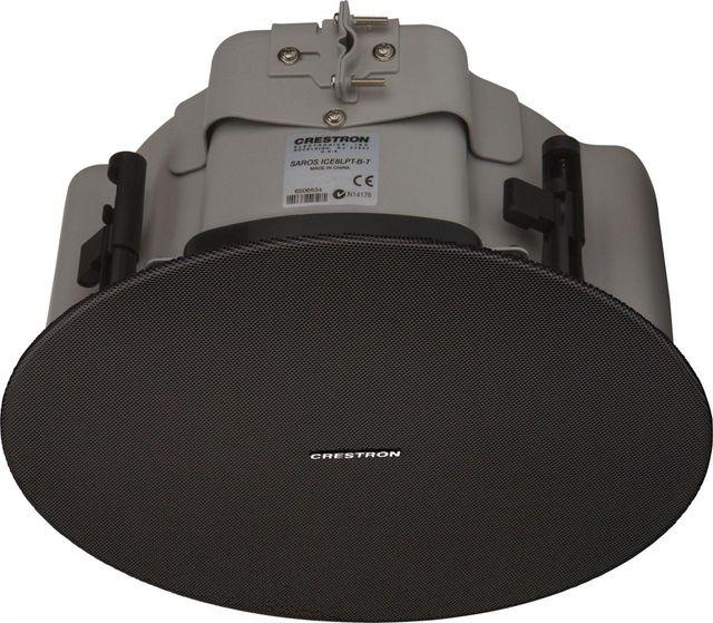 "Crestron® Saros®  Express 8"" 2-Way In-Ceiling Speaker-Black-SAROS ICE8LPT-B-T-EACH"
