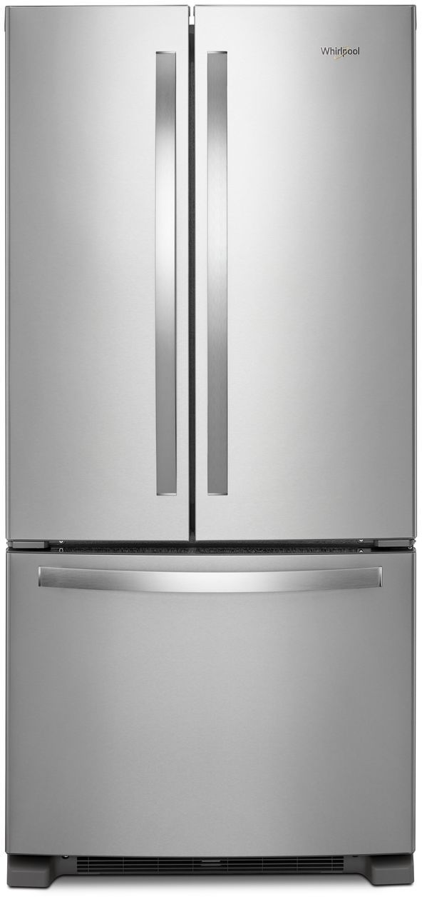 Whirlpool 174 22 Cu Ft Wide French Door Refrigerator