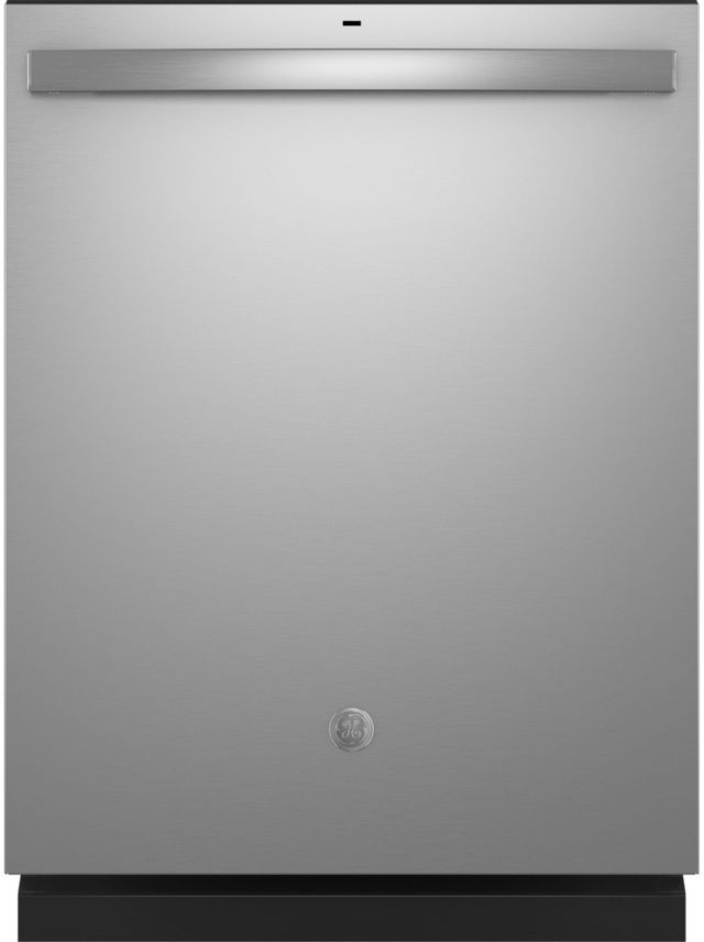 "GE® 24"" Fingerprint Resistant Stainless Steel Built-In Dishwasher-GDT550PYRFS"