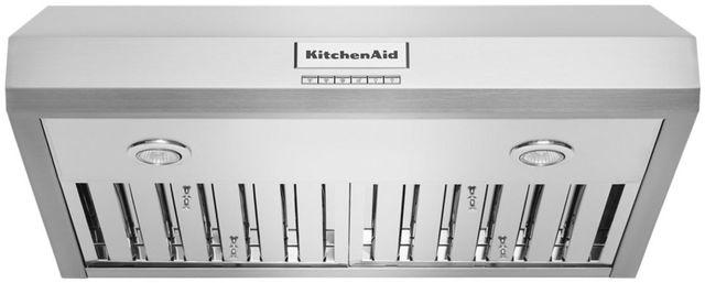 """KitchenAid® 30"""" Stainless Steel Under Cabinet Range Hood-KVUC600KSS"""