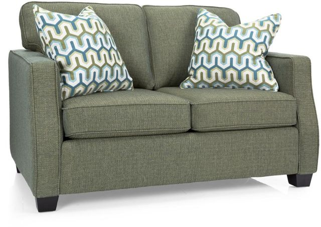 Decor-Rest® Furniture LTD 2570 Green Loveseat-2570-LOVESEAT GREEN