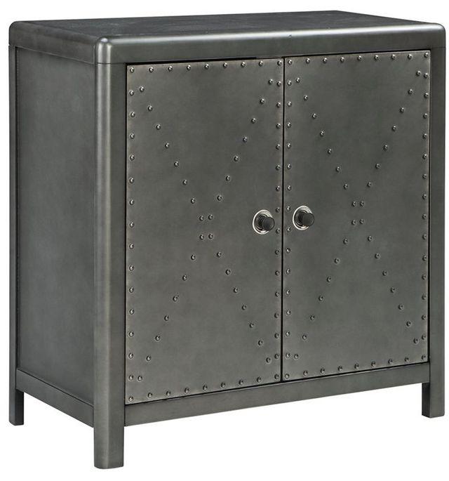Signature Design by Ashley® Rock Ridge Gunmetal Accent Cabinet-A4000033