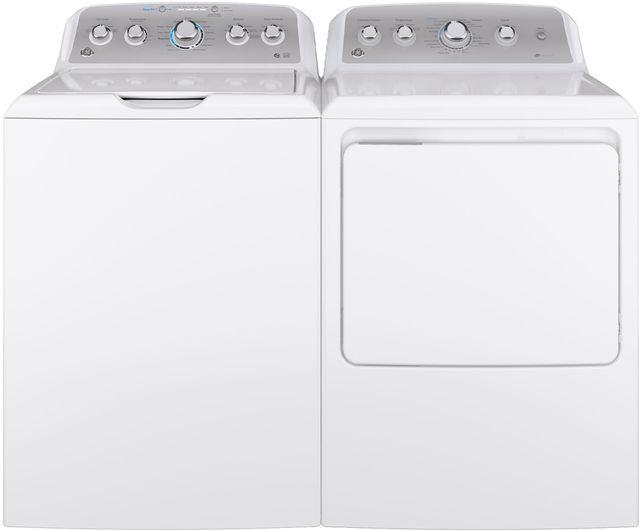 GE® White Laundry Pair-GELAUGTD45EASJWS