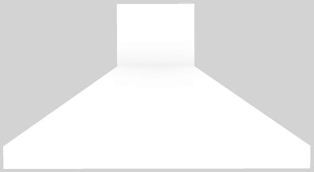 "Vent-A-Hood® 54"" Euro-Style Island Range Hood-White-EPITH18-454 WH"