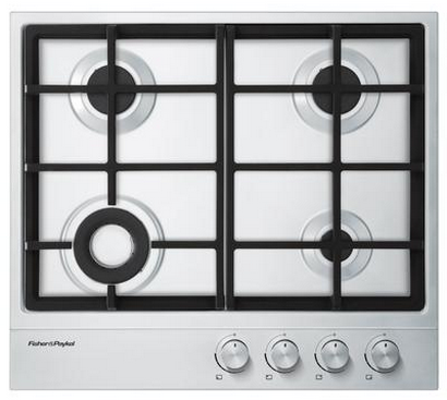 """Fisher & Paykel 24"""" Gas Cooktop-Stainless Steel-CG244DNGX1"""