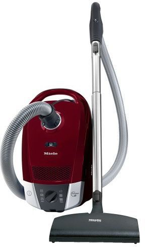 Miele Vacuum S6 Series Topaz Canister Vacuum-Tayberry Red-S6270 Topaz