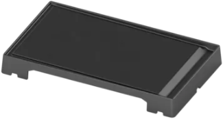 Bosch Black Stainless Steel Griddle Plate-HEZ9GR41UC