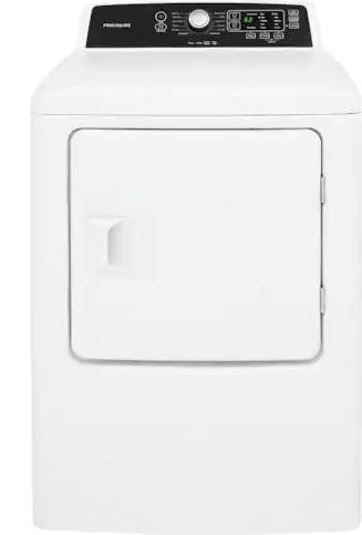 Sécheuse électrique Frigidaire® de 6,7 pi³ - Blanc-CFRE4120SW