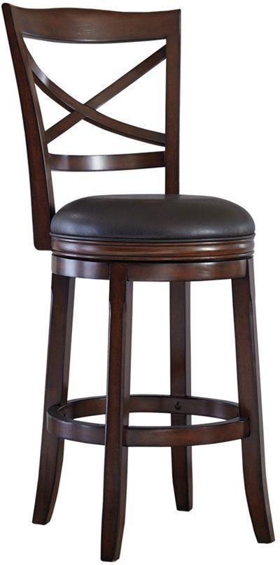 Millennium® By Ashley Porter X-Back Bar-Height Bar Stool-D697-430